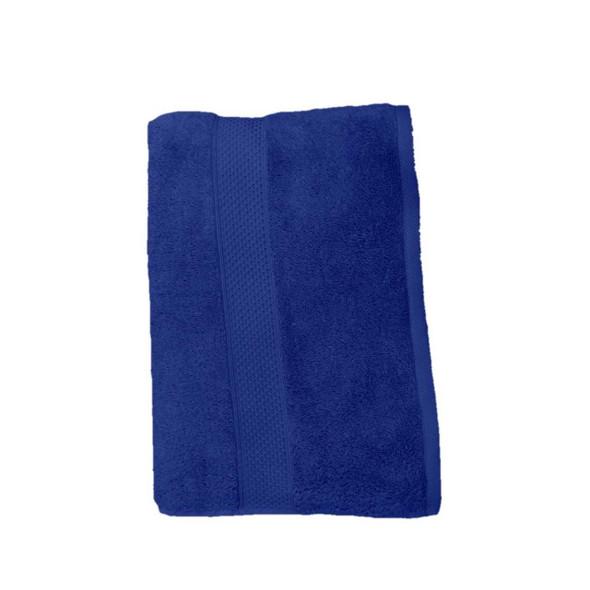 "Lifestyle Organic Cotton 27""x54"" 520gms Navy Blue Bath Towel"