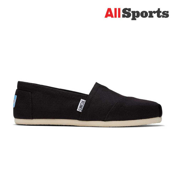 AllSports - Toms Classic Black Canvas (Men's)
