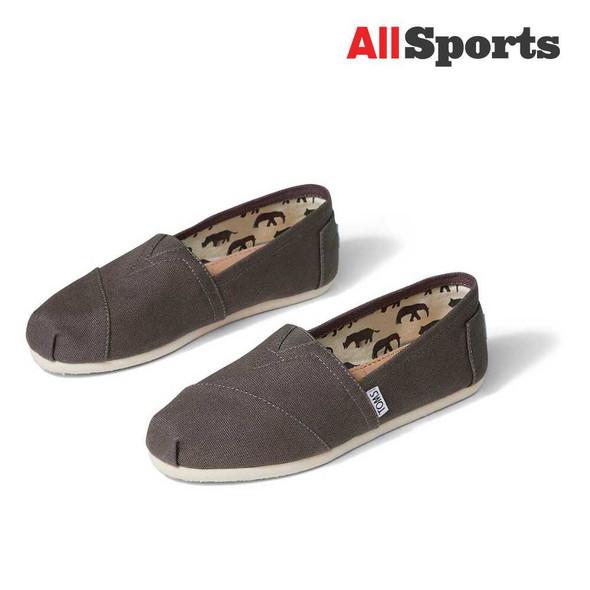 AllSports - Toms Classic Ash Grey Canvas (Women's)