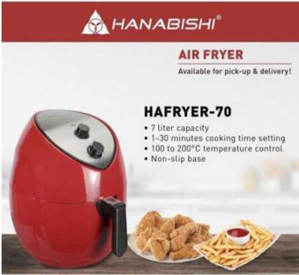 HANABISHI Air Fryer 7liters HAFRYER70
