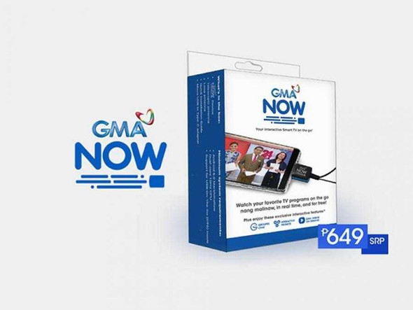 GMA NOW Digital TV Mobile Receiver OTG Dongle for Android