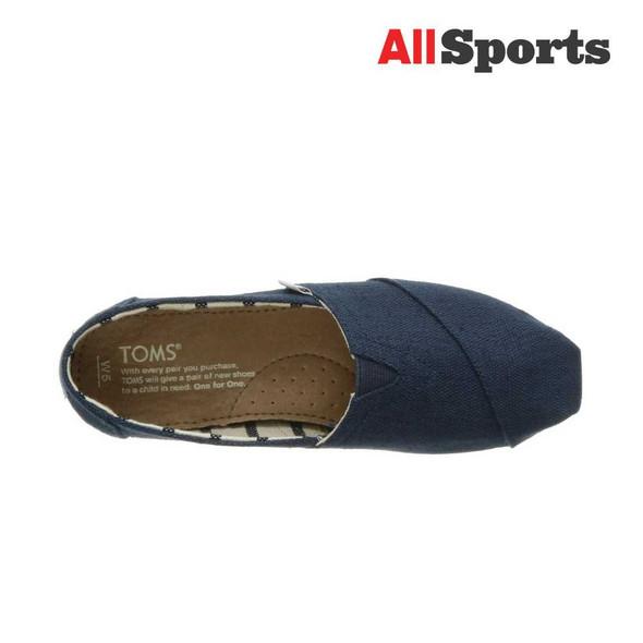 AllSports - Toms Classic Majolica Blue Heritage Canvas (Women's)