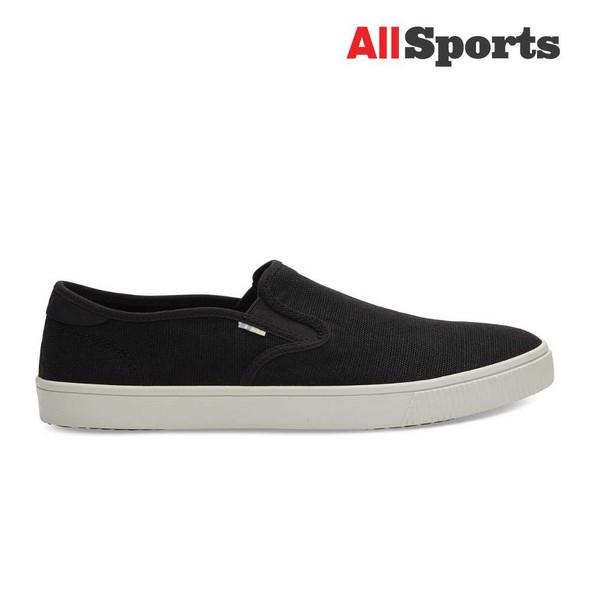 AllSports - Toms Black Baja Slip-Ons (Men's)