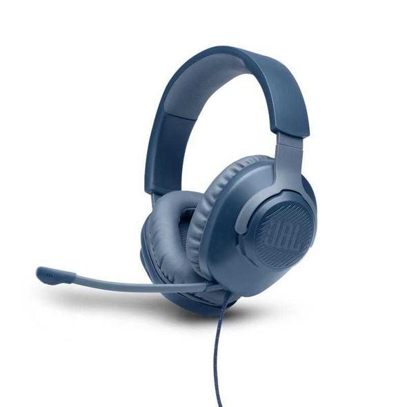 JBL QUANTUM 100 GAMING HEADPHONES BLUE