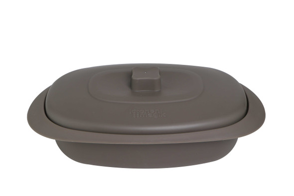 Urban Kitchen Oval Serveware Brown 12in (Buy 1 Take 1)