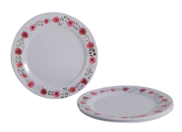 Bestware Carmina Round Plate 10in Set of 4