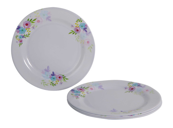 Bestware Hermosa Round Plate 10in Set of 4