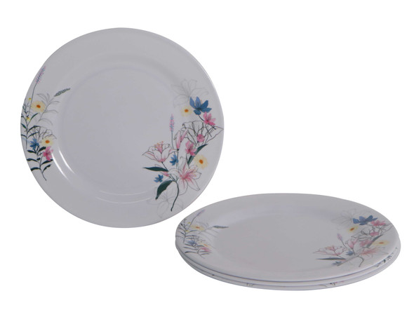 Bestware Ireane Round Plate 10in Set of 4