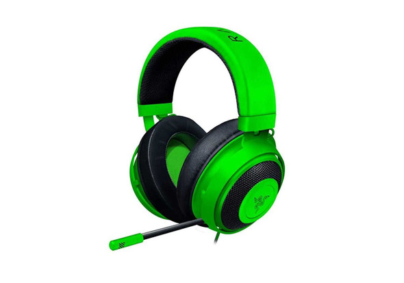 RAZER RZ04-02830200-R3M1 KRAKEN GAMING HEADSET GREEN