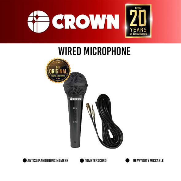 Crown M-801 Professional Wired Microphone