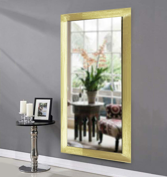 Wall Mirror 3K MR-SPGY026-2448-GLD-1/8
