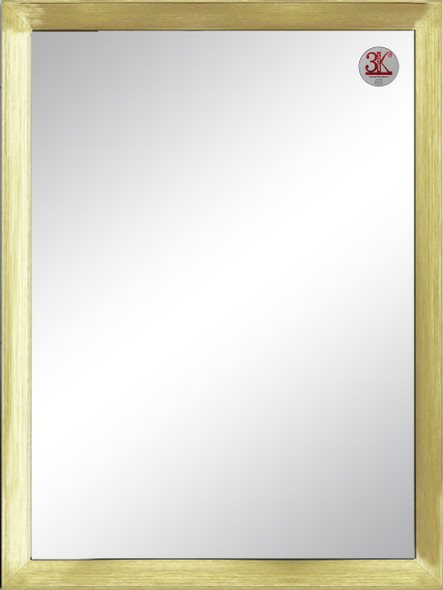 Wall Mirror 3K MR-SPGY026-3648-GLD-1/8