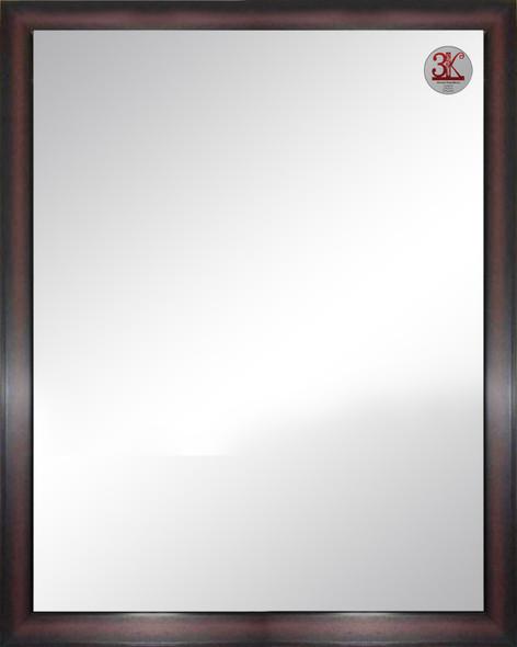 Wall Mirror 3K MR-SPGY026-4860-DBRN-1/8