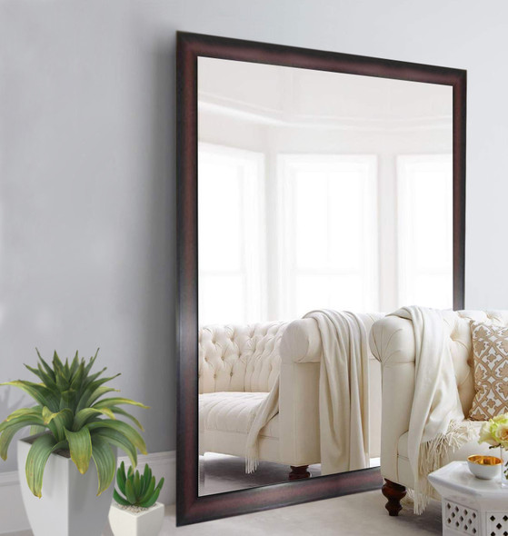 Wall Mirror 3K MR-SPGY026-4860-DBRN-1/8