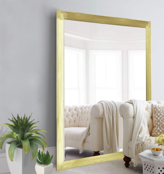Wall Mirror 3K MR-SPGY026-4860-GLD-1/8