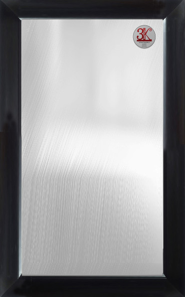 Wall Mirror 3K MR-SPT8050-3648-BLK-1/8