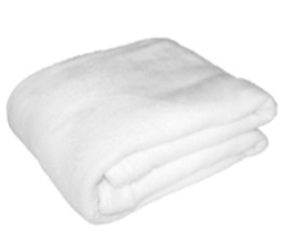 1.2mx1.5m White Coral Fleece Blanket