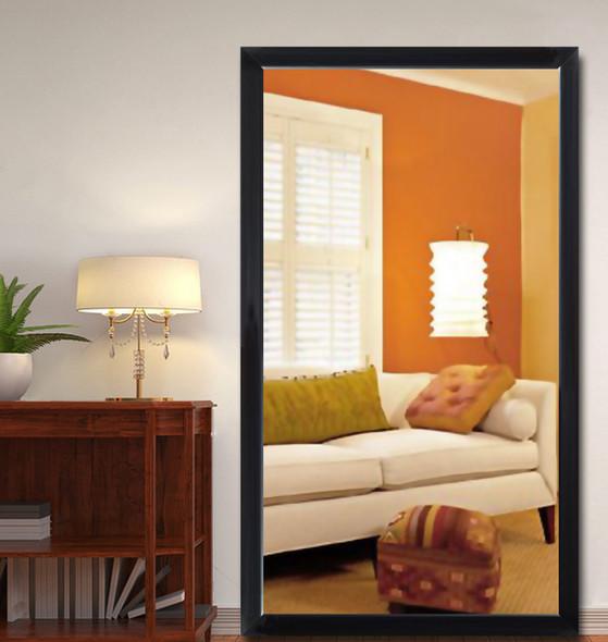 Wall Mirror 3K MR-SPT8050-4860-BLK-1/8