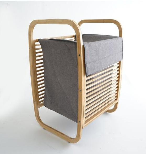 BH020 Bamboo Magazine Stand