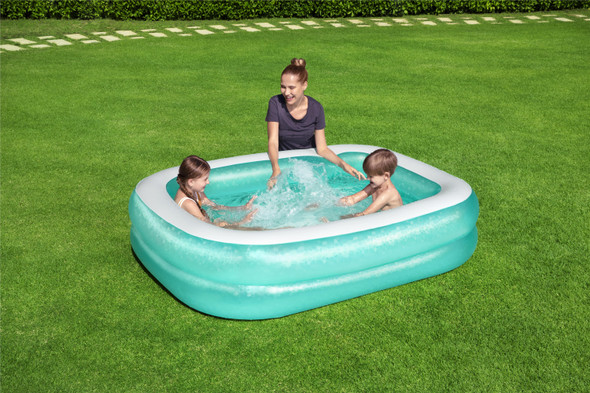 Bestway Blue Rectangular Pool 6'7X59X20