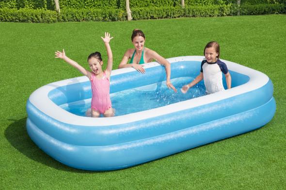Bestway Blue Rectangular Swimming Pool 8'7X69X20
