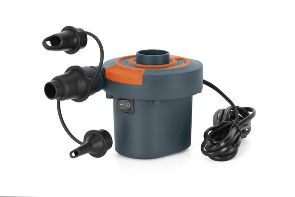 Bestway AC Air Pump 220-240v 110watts with 3 Valve Adaptors