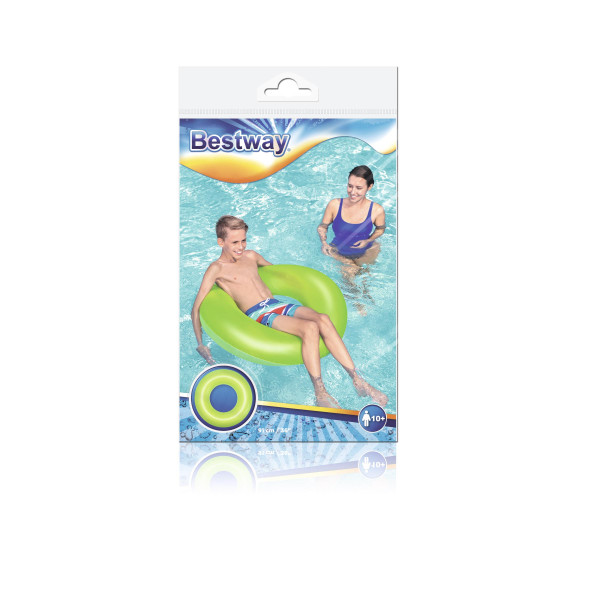 Bestway Frosted Neon Swim Ring 91CM