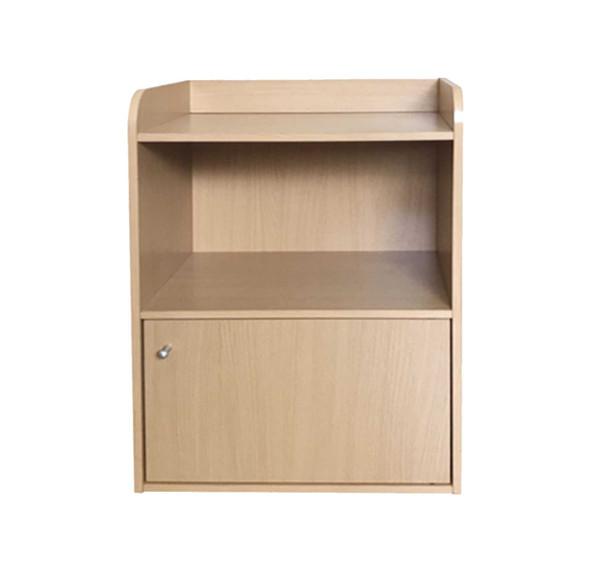 1 tier Storage Shelf with 1 door