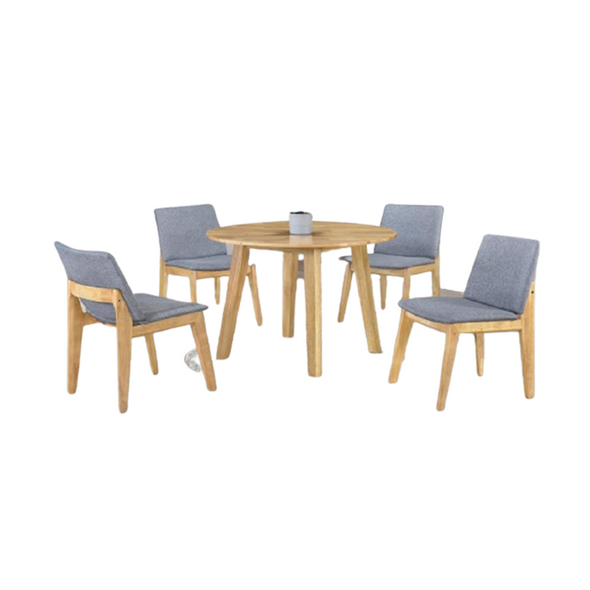 PAULETTE 4 SEATER DINING SET