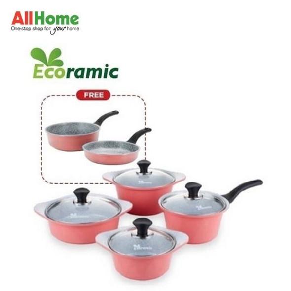ECORAMIC Pot Set Pink