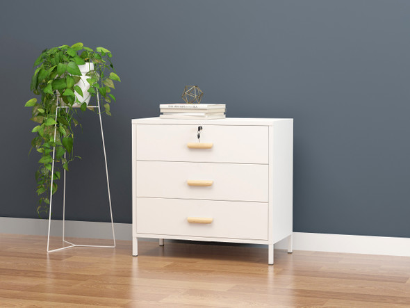 Scout II Steel Chest of 3 Drawers