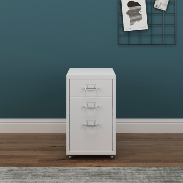 Seager 3 Drawer Office Mobile Cabinet