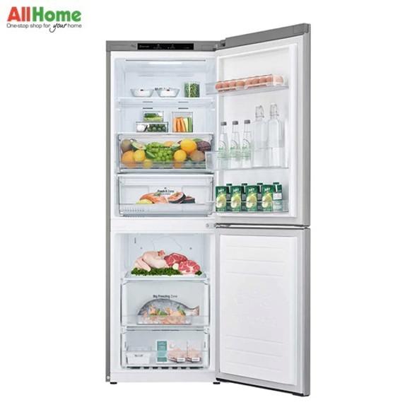 LG 2 Door Refrigerator Bottom Mount No Frost REF 11.8CUFT GR B369NLRM