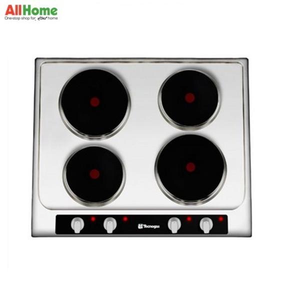 Tecnogas Hob 4 Electric Hotplates 60cm TBH6004HSS