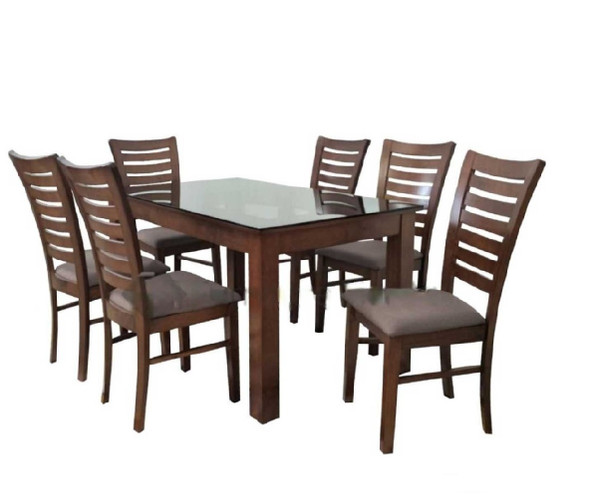 Annabel 1Table 6Chair Dining Set