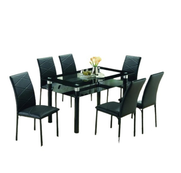 TDT0719 1Table 6Chair Dining Set