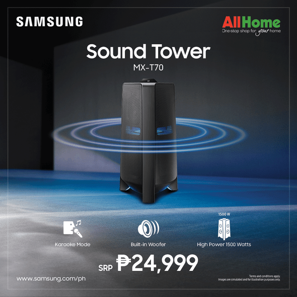 Samsung MXT70 1500w Tower Speaker