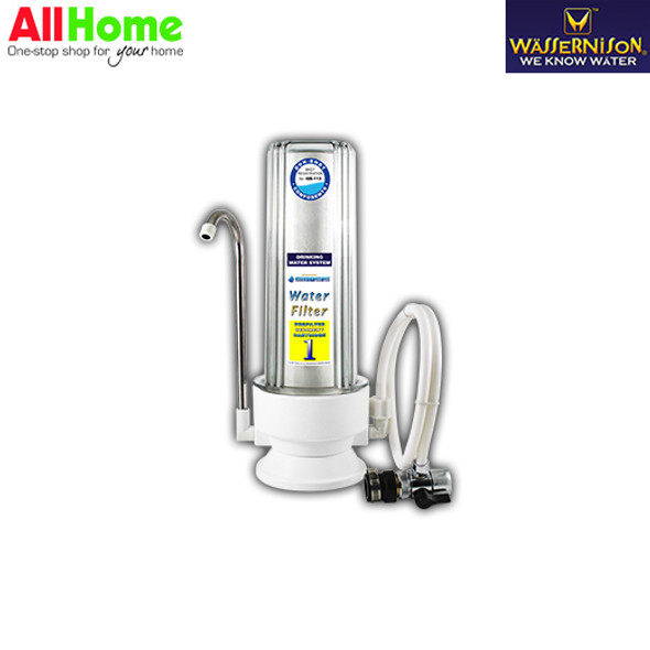 WASSERNISON FT1 Single Water Filter with Free Sediment Filter