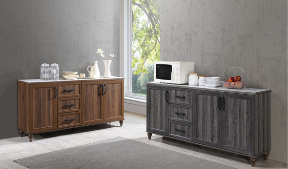 ODELLE Kitchen Cabinet / Multipurpose Cabinet