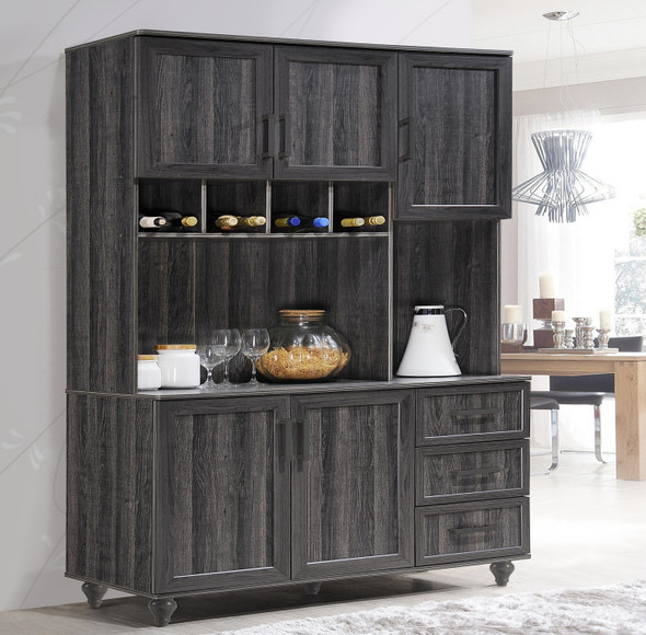 OLIYAH Kitchen Cabinet / Multipurpose Cabinet