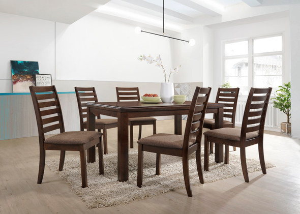 DAPHNEY 1Table 6Chair Dining Set