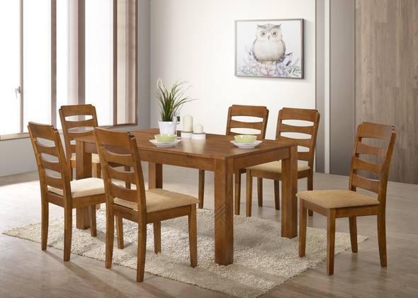 TIFFANY 1 Table 6Chair Dining Set