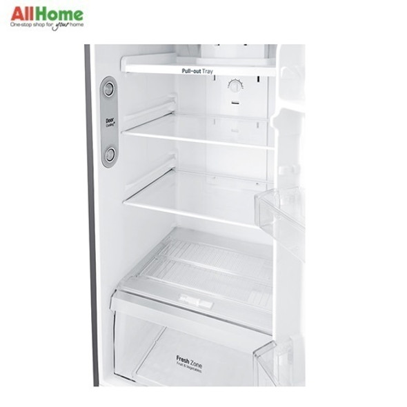 LG 2 Door Refrigerator Top Mount No Frost 15cuft GR C422SLCN