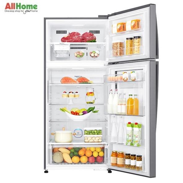 LG 2 Door Refrigerator Top Mount No Frost 19.4cuft GR A702HLHU