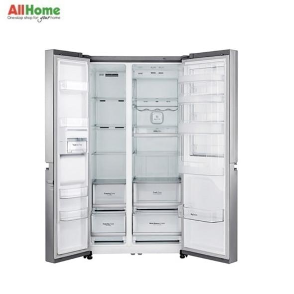 LG Side by Side Refrigerator 24cuft GR M247CSBW