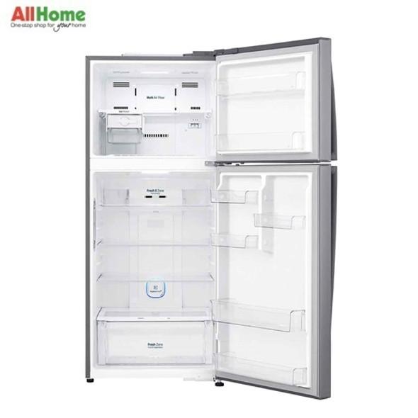 LG  2 Door Refrigerator Top Mount No Frost 15.4cuft GR H432HLHN
