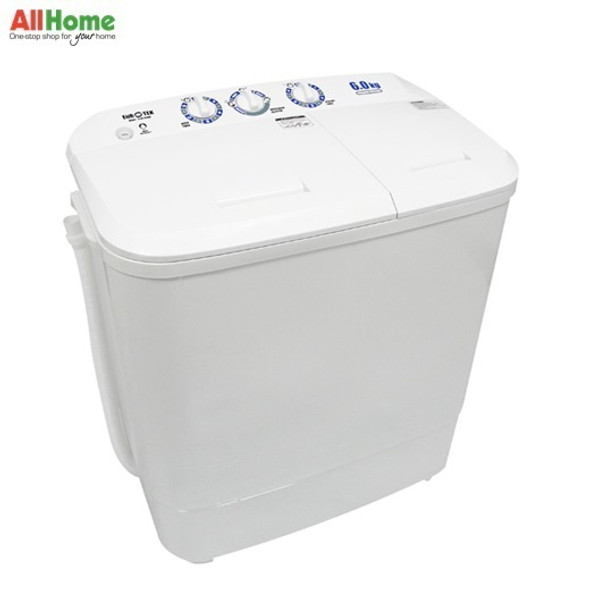 Eurotek Twin Tub Washing Machine 6 KG ETW-608W