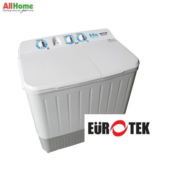 Eurotek Twin Tub Washing Machine 8 kg ETW-819W