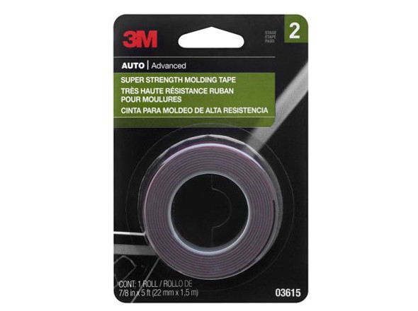 3M 1913 MOLD TAPE SUPER STRENGTH 7/8X5FT