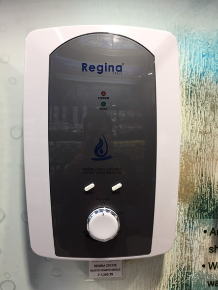 REGINA Z3522E WATER HEATER SINGLE POINT 3.5KW